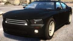 FBI Buffalo to Dodge Charger SRT8 v2 для GTA 4