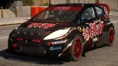 Ford Fiesta Rallycross (DiRT3) V.1 для GTA 4
