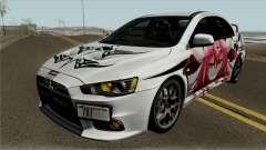 Mitsubishi Lancer Evolution X Date A Live для GTA San Andreas