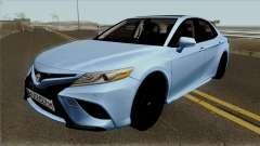 Toyota Camry 2018 Sedan для GTA San Andreas