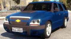 2010 Chevrolet Blazer Advantage для GTA 4