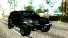 UAZ Patriot Offroad для GTA San Andreas