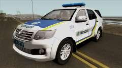 Toyota Fortuner Полиция Украины для GTA San Andreas