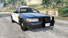 Ford Crown Victoria Sheriff CVPI [replace]