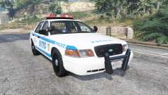 Ford Crown Victoria NYPD CVPI v1.1 [replace] для GTA 5