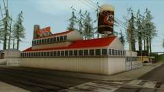 Montgomery A&W Root Beer Factory для GTA San Andreas