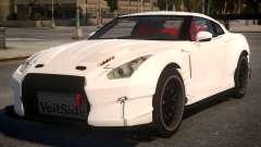Nissan GTR 2017 Hamann для GTA 4