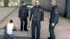 Сотрудники Полиции Кантон Сараево Пакет для GTA San Andreas