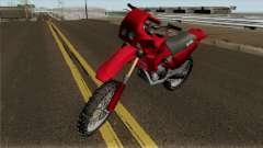 Aprilia Tuareg 125 для GTA San Andreas