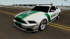 Ford Mustang Shelbi GT 500 2013 Dubai Police для GTA San Andreas
