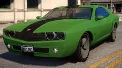 Bravado Gauntlet Muscle Car Rims для GTA 4
