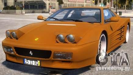 Gold Ferrari 512 для GTA 4