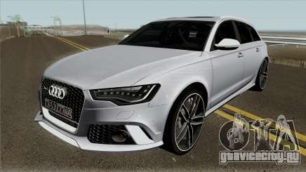 Audi RS6 Avant RUS Plates для GTA San Andreas
