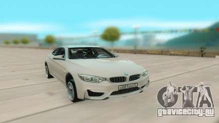 BMW M4 White Coupe для GTA San Andreas