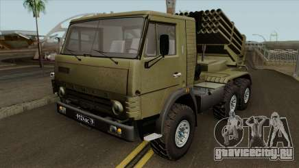 КамАЗ-5410 БМ-21 Град для GTA San Andreas