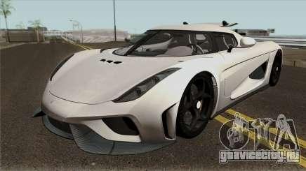 Koenigsegg Regera Project 2018 для GTA San Andreas