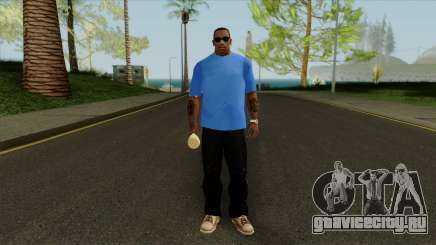 Футболка со змеей для GTA San Andreas