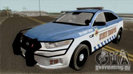 Ford Taurus 2013 Red County Police для GTA San Andreas
