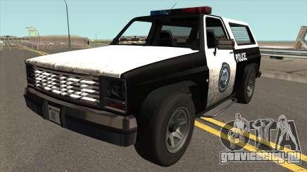 Declasse Rancher Police для GTA San Andreas