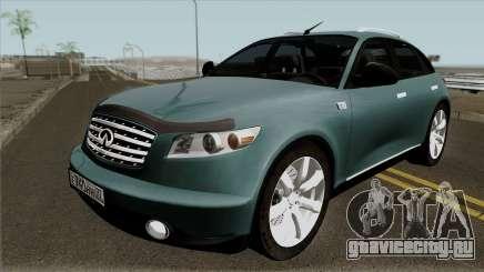 Infinity FX45 2007 для GTA San Andreas