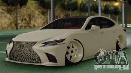 Lexus LS500 для GTA San Andreas