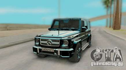 Mercedes-Benz G65 Black для GTA San Andreas