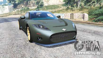 Spyker C8 Aileron 2009 [add-on] для GTA 5