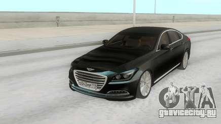 Hyundai Genesis G380 Black для GTA San Andreas