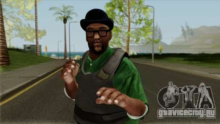 Big Smoke Vest Skin (Legacy Version) для GTA San Andreas