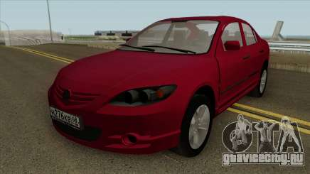 Mazda 3 2008 Red для GTA San Andreas