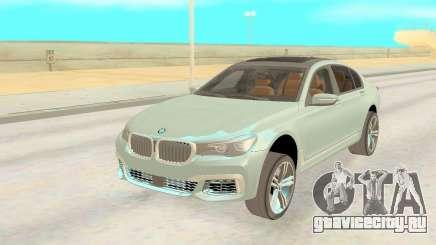 BMW 760Li Xdrive для GTA San Andreas