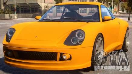 Comet to Porsche 911 turbo S для GTA 4