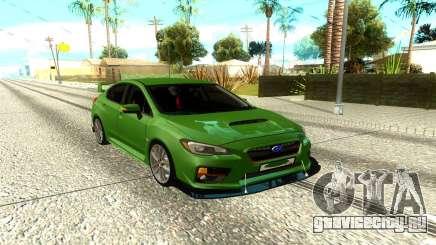 Subaru Impreza WRX Green для GTA San Andreas