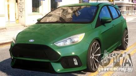 Ford Focus RS Hatchback для GTA 4