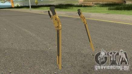 Gold Winchester M1887 для GTA San Andreas