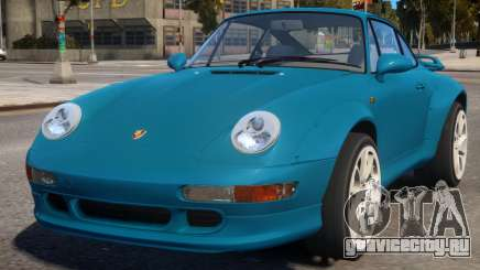 Porsche 911 Turbo 1995 для GTA 4