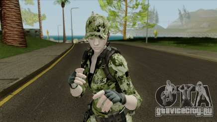 Jill Valentine для GTA San Andreas