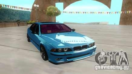 BMW M5 E39 лазурный для GTA San Andreas