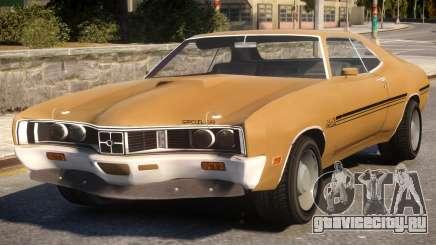 1970 Mercury Cyclone Spoiler для GTA 4