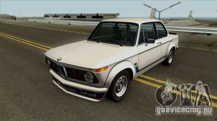 BMW 2002 Turbo (E10) 1973 для GTA San Andreas