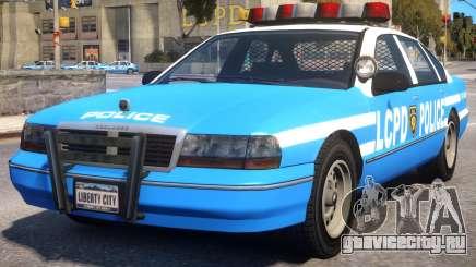 Declasse Premier Police Cruiser для GTA 4