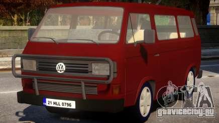 Volkswagen Transporter T3 Minibus для GTA 4