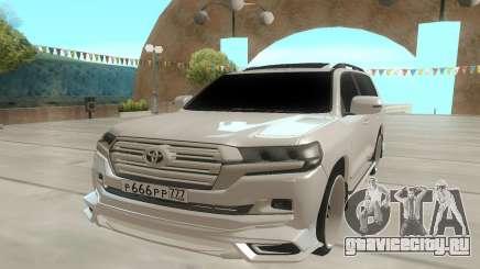Toyota Land Cruiser 200 666 для GTA San Andreas