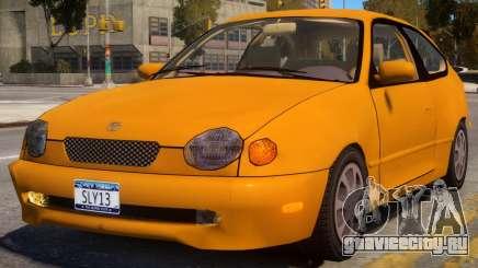 Toyota Corolla G6 Compact US для GTA 4
