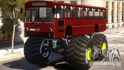 Bus Monster Truck V2 для GTA 4