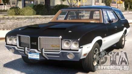Oldsmobile Vista Cruiser 1972 для GTA 4