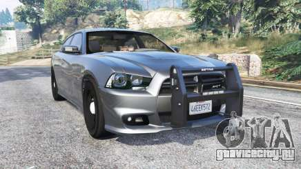 Dodge Charger SRT8 (LD) Police v1.2 [replace] для GTA 5