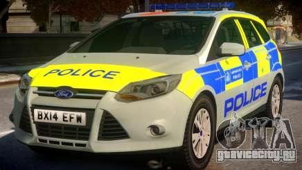 Police Ford Focus Estate IRV TFL Version для GTA 4