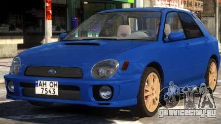 Subaru Impreza STi Wagon для GTA 4