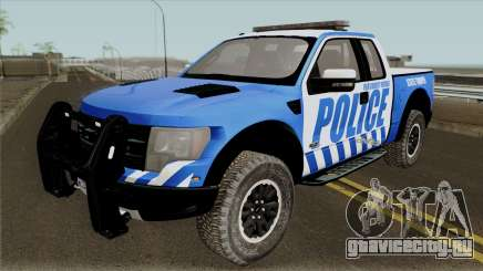 Ford F-150 Raptor 2016 Red County Police для GTA San Andreas